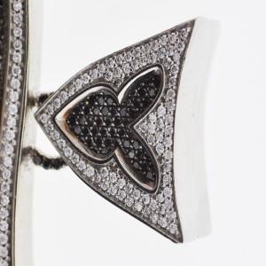 White White Gold Diamond Womens Pendant