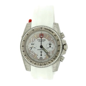 Tudor Diamond Chronograph 20310 Stainless Steel & Rubber 41mm Watch