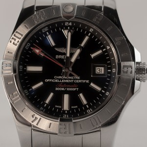 Breitling Avenger II GMT A3239011/BC35/170A 43mm Mens Watch