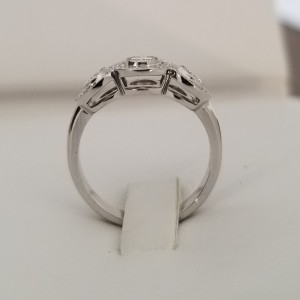 Platinum Tiffany & Co. Circlet  0.55 cts Diamonds Engagement Ring
