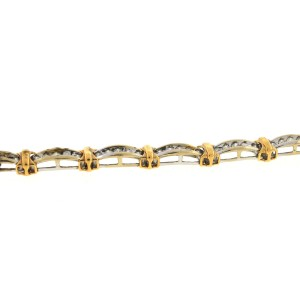 10K Yellow Gold Diamond Bracelet