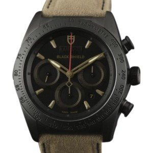 Tudor Fastrider Blackshield 42000CN Ceramic Black & Bronze Dial 42mm Mens Watch