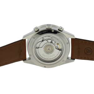 Bell & Ross Flyback BRV126-FLY-GMT/SCA Stainless Steel / Leather 43mm Mens Watch