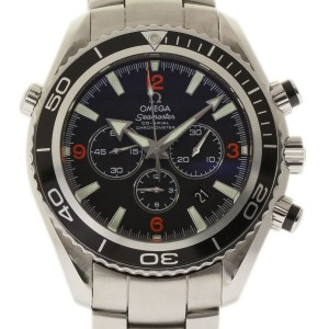 Omega Seamaster 2210.51.00 Stainless Steel Black Dial Automatic 45mm Mens Watch