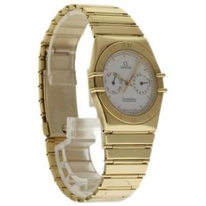 Omega Constellation 1102.30.00 18K Yellow Gold White Dial Quartz 35mm Unisex Watch