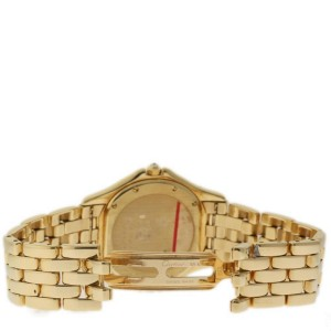 Cartier Panthere 887905 18K Yellow Gold 32mm Womens Watch