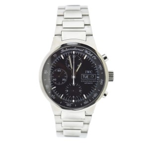 IWC GST 3707 Stainless Steel Black Dial Automatic 40mm Mens Watch