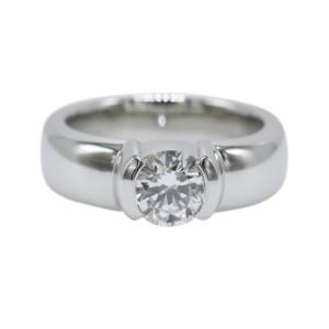 4a375e097920 Tiffany   Co. Platinum Diamond Etoile Engagement Ring Size 5.5 ...