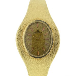 Vintage Jaeger LeCoultre 14k Yellow Gold Watch
