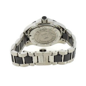 Longines Conquest L3.281.0.57.7 Stainless Steel wDiamond Quartz 35mm Womens Watch