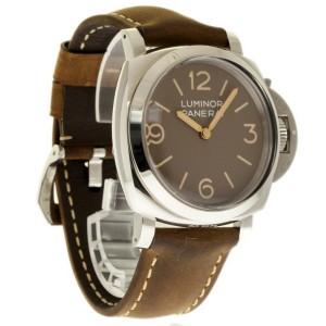 Panerai Luminor PAM00663 Stainless Steel & Leather 47mm Mens Watch