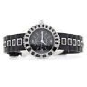 Christian Dior Christal CD112116R001 Stainless Steel / Rubber with Diamond Quartz 29mm Womens Watch