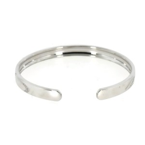 Chopard Chopardissimo Diamond 18K White Gold Bangle Bracelet Medium