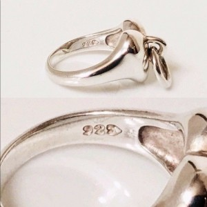 Tiffany & Co. Sterling Silver Ring Size 6.5