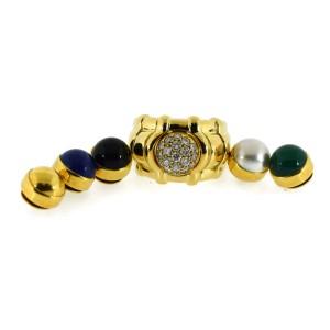 Piaget Yellow Gold Diamond Womens Ring Size 7.5
