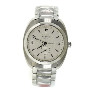 Hermes Dressage Stainless Steel Watch DR5.71B
