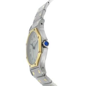 Cartier Santos Octagon 187902 30mm Womens Watch