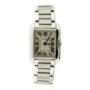 Cartier Tank Anglaise W5310027 23mm Womens Watch