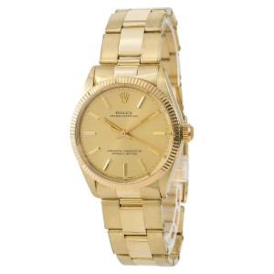 Rolex Oyster Perpetual 1005 34mm Mens Watch