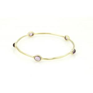 Ippolita Rock 18K Yellow Gold Amethyst Bracelet