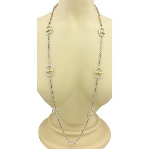 Gurhan DOMINO 24K Yellow Gold, Sterling Silver Necklace