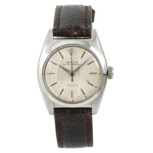 Rolex Oyster Perpetual Precision 6050 Vintage 32mm Mens Watch