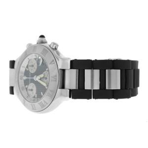 Cartier Chronoscaph 2424 CHRONOSCAPH 38mm Mens Watch