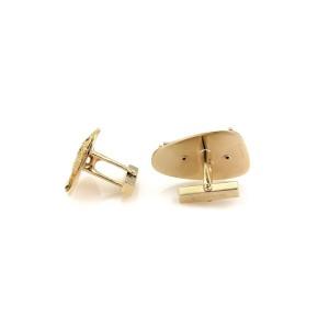 Tiffany & Co. Ruby 14K Yellow Gold Ruby Cufflinks