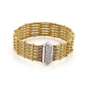 Marco Bicego Diamond 18K Yellow Gold Diamond Bracelet