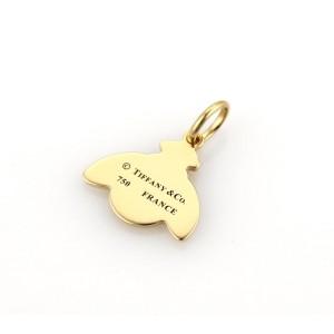 Tiffany & Co. Enamel 18K Yellow Gold Enamel Pendant