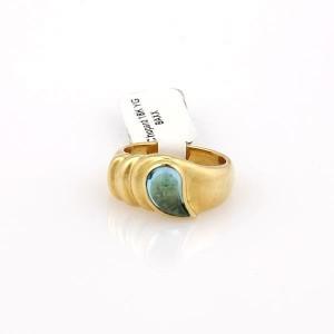 Chopard 202447222005-E 18K Yellow Gold Topaz Rings Size 6