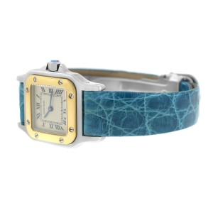 Cartier Santos Galbee 1567 1567 24mm Womens Watch