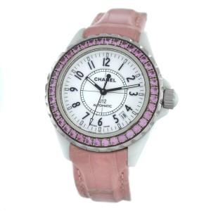 Chanel J12 H1337 Sapphire Ceramic Date Automatic 39MM Watch