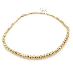 Ippolita Glamazon 18k Yellow Gold Graduated Bead Necklace Rt. $4,595