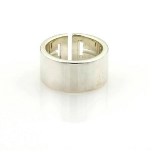 07bc1663a Tiffany & Co. T Cut Out Wide Sterling Silver Band Ring | Tiffany ...