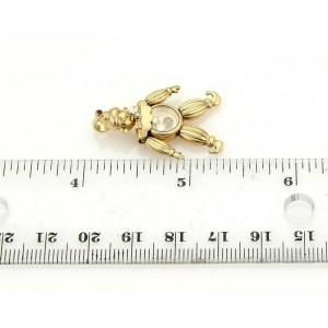 Chopard Diamonds & Rubies 18k Yellow Gold Animated Clown Pendant