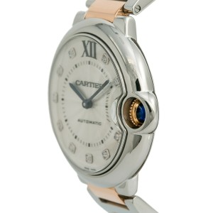 thoughts on best selling on feet at Cartier Ballon Bleu 3284 W3BB0018 Womens Automatic Watch Two Tone SS 36mm