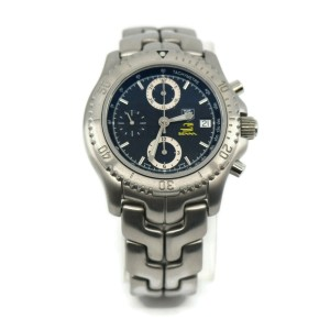 Tag Heuer Link Ayrton Senna Chronograph Stainless Steel Watch CT5114