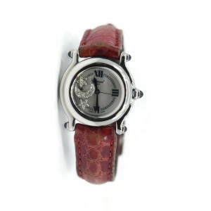 Chopard Happy Sport Diamond Stainless Steel Watch 27/8245