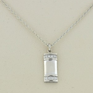 Kwiat 18k White Gold Diamond Pendant Necklace