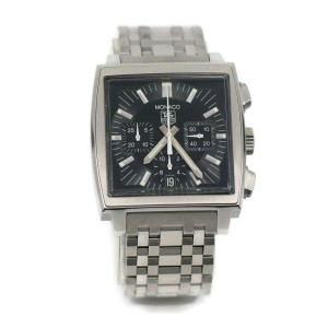 Tag Heuer Monaco Chronograph Stainless Steel Watch CW2111