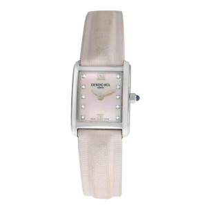 Ladies Raymond Weil Don Giovanni 5875 Steel Diamond MOP 18MM Quartz Watch