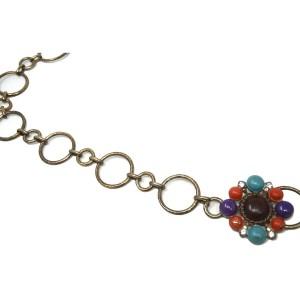 Chanel Gripoix Pearl Circle Chain Belt