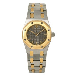 Audemars Piguet Royal Oak 67075SA Unisex Quartz Watch 18K Two Tone 26mm