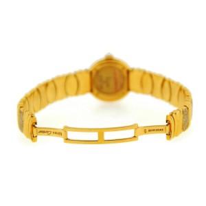 Cartier Colisee Factory Diamonds 18K Yellow Gold Watch