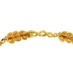 Chanel Diamond 18K Yellow Gold Necklace