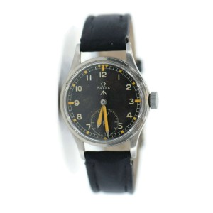 Omega Military W.W.W. Cal 30T2 Stainless Steel Watch