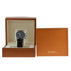 Ebel 1911 BTR Chronograph Stainless Steel Watch 1215668