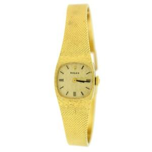 Rolex Vintage 14K Yellow Gold Watch 8133