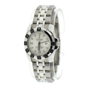 Tudor Lady Hydronaut II Silver Dial Stainless Steel Watch 24030